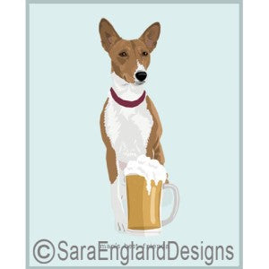 Basenji Best Friends Prints