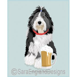 Bearded Collie Best Friends Prints