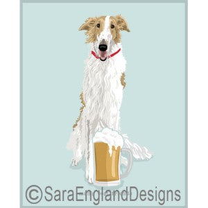 Borzoi Best Friends Prints