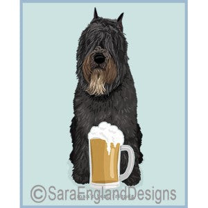 Bouvier Best Friends Prints