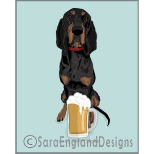 Coonhound Best Friends Prints