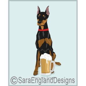 Doberman Best Friends Prints