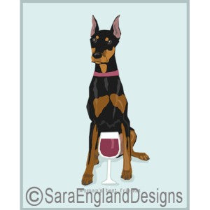 Doberman Pinscher Best Friends Prints
