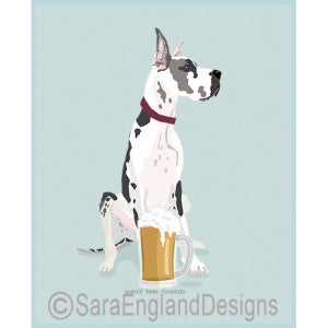 Great Dane Best Friends Prints