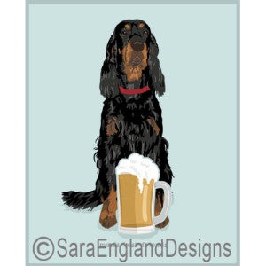 Gordon Setter Best Friends Prints