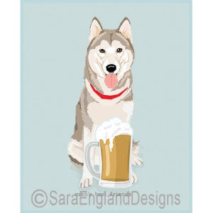 Siberian Husky Best Friends Prints