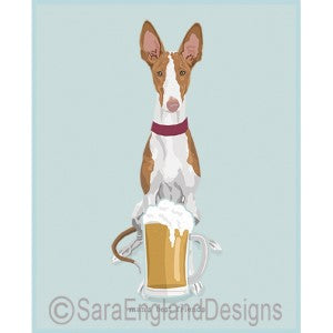 Ibizan Hound Best Friends Prints