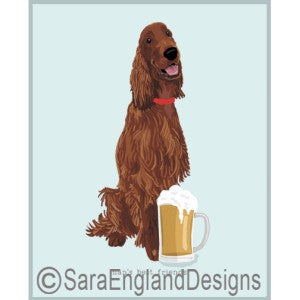 Irish Setter Best Friends Prints