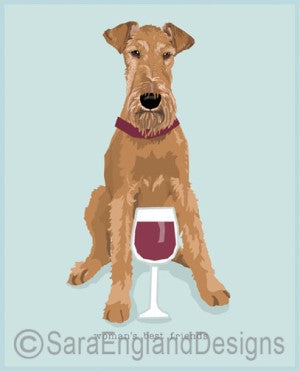 Irish Terrier Best Friends Prints