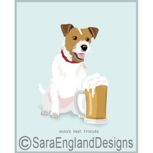 Jack Russell Best Friends Prints