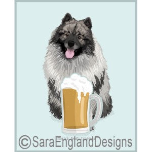 Keeshond Best Friends Prints