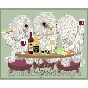 Komondor 3 Dogs Prints