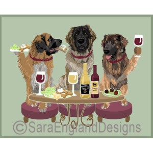 Leonberger 3 Dogs Prints