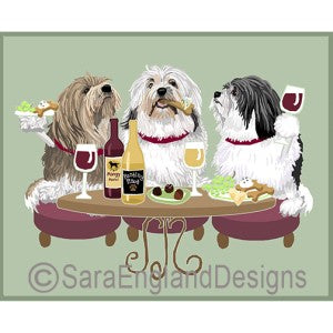 Lowchen 3 Dogs Prints