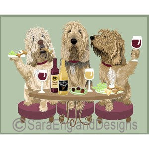 Otterhound 3 Dogs Prints