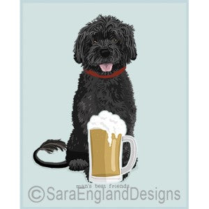 Portuguese Water Dog Best Friends Prints