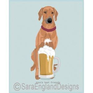 Rhodesian Ridgeback Best Friends Prints