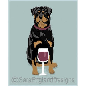 Rottweiler Best Friends Prints