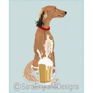 Saluki Best Friends Prints