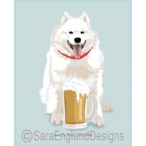 Samoyed Best Friends Prints