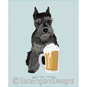 Schnauzer Miniature Best Friends Prints