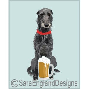 Scottish Deerhound Best Friends Prints