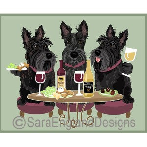 Scottish Terrier 3 Dogs Prints