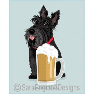 Scottish Terrier Best Friends Prints
