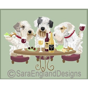 Sealyham Terrier 3 Dogs Prints