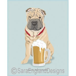 Shar-Pei Best Friends Prints