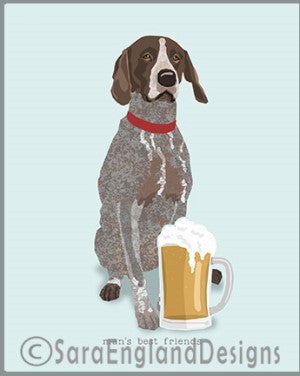 German Shorthaired Pointer Best Friends Prints