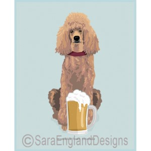 Poodle-Standard Best Friends Prints