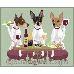 Toy Fox Terrier 3 Dogs Prints