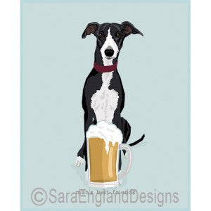 Whippet Best Friends Prints