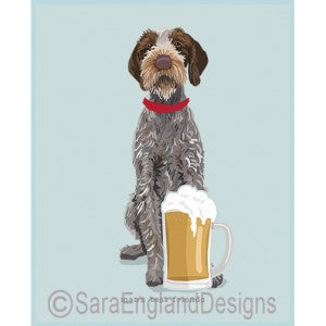 German Wirehaired Pointer Best Friends Prints
