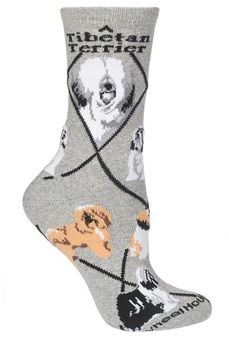 Tibetan Terrier Socks