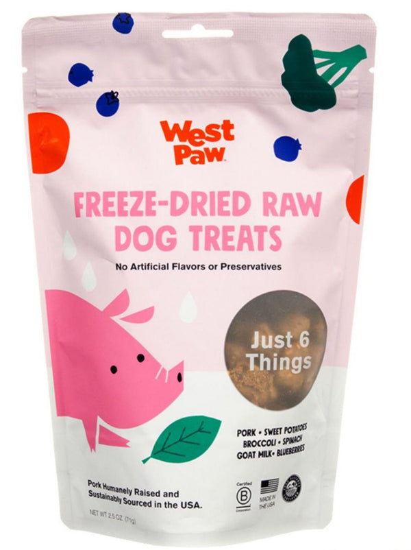 Westpaw Freeze-Dried Raw Dog Treats
