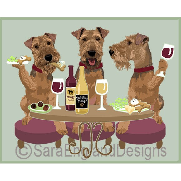 Welsh Terrier 3 Dogs Prints
