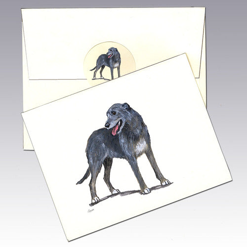 Irish Wolfhound 8 Pack Notecards