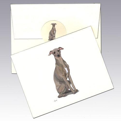 Italian Greyhound 8 Pack Notecards