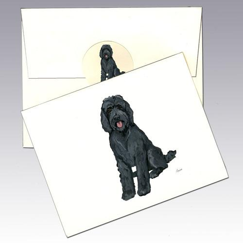 Labradoodle 8 Pack Notecards