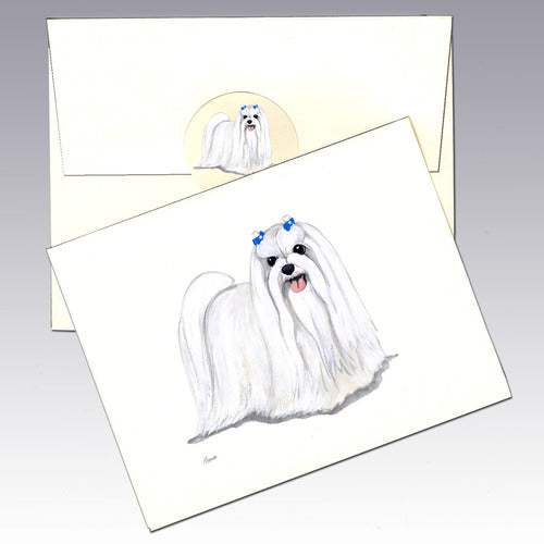 Maltese 8 Pack Notecards