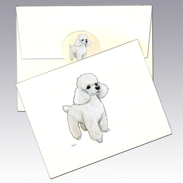 Toy Poodle 8 Pack Notecards