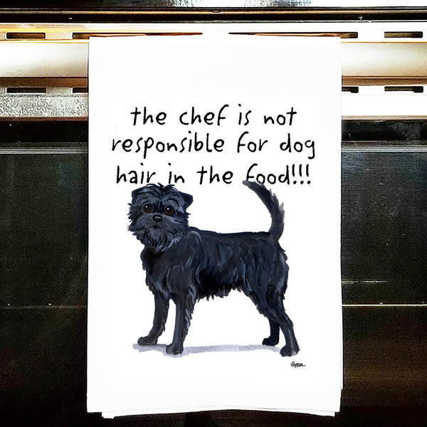 Affenpinscher Kitchen Tea Towel