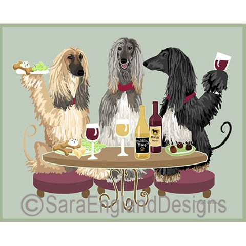 Afghan Hound 3 Dogs Prints