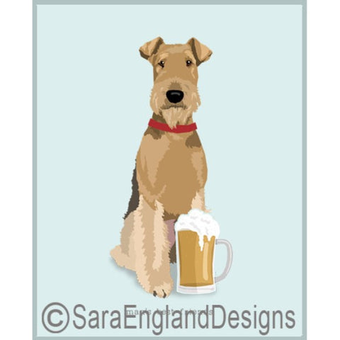 Airedale Best Friends Prints