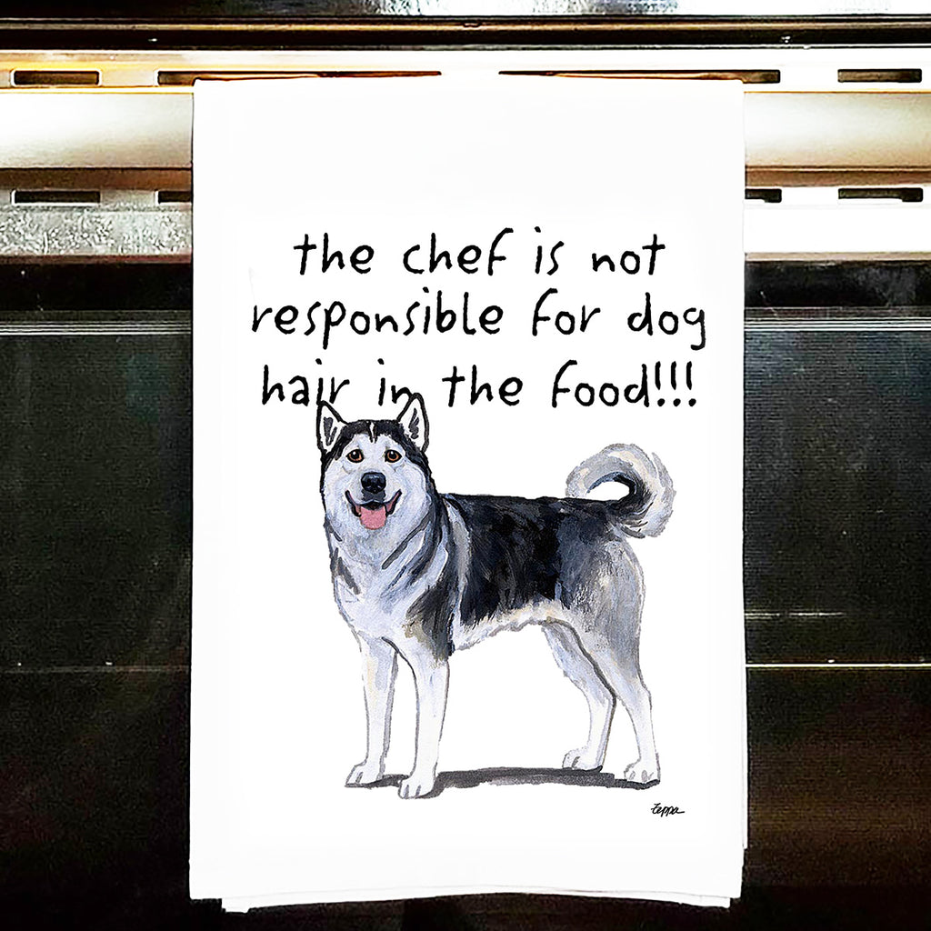 Alaskan Malamute Kitchen Tea Towel