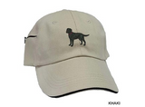 German Shepherd Black Embrodiered Baseball Caps
