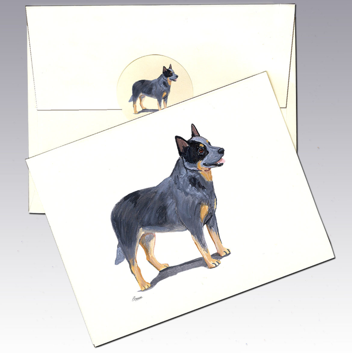 Australian Cattle Dog 8 Pack Notecards