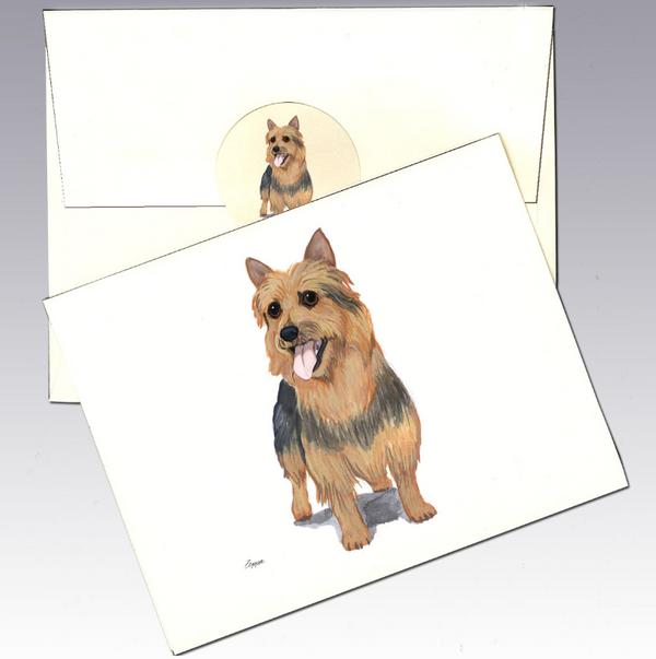 Australian Terrier 8 Pack Notecards